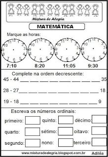 Matemática Bingo, Fathers Day, Math Equations, Activities, School, Teaching Math, Learning Activities, Cool Math, Alphabet