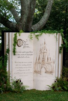 Take a look at the best fairytale wedding themes in the photos below and get ideas for your wedding! dramatic fairytale wedding trends and themes 2016 Image source Tips on How to Have a Fairytale Princess Wedding – Beauty and… Continue Reading → Cute Wedding Ideas, Wedding Themes, Perfect Wedding, Our Wedding, Dream Wedding, Wedding Decorations, Disney Decorations, Backdrop Wedding, Wedding Book
