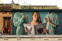 The Voices of Conscience by Fitz Florencia Duran in Montevideo, Uruguay