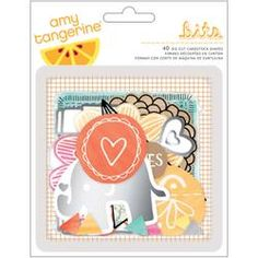 AMY TAN RISE & SHINE CARDSTOCK DIE-CUTS 28/PKG | American Crafts