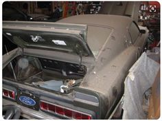 Shelby Mustang .... Barn Find..