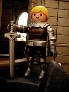 Brienne von Tarth aus Game of Thrones. Playmobil