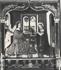 PM06001168, retable, tableaux : Annonciation (l'), église paroissiale Saint-Véran, Utelle, Alpes-Maritimes, Provence-Alpes-Côte d'Azur