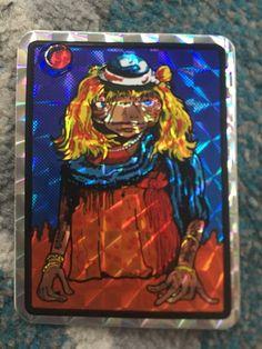 1980's ET Prism Sticker Vending Machine Arcade Foil Vintage E.T.  Fun