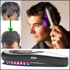 Power Grow Laser Comb Kit Stop Hair Loss Laser Hot Massage Regrow Dht Therapy Hair Loss Cure, Anti Hair Loss, Stop Hair Loss, Hair Loss Remedies, Prevent Hair Loss, Hair Cure, Hair Growth Treatment, Massage Corps, Hair Loss Treatment