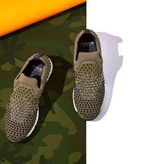 Green #ShineBabyShine Gem sneakers #FW15 #PINKO
