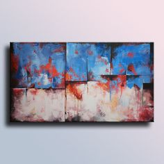 "35,4"" Original Abstract Painting on Canvas  Contemporary Abstract  Modern Art  Wall Hanging wall decor for your home"