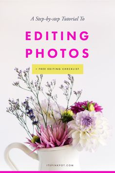 A step-by-step tutorial to edit your iPhone photos using Snapseed [+ FREE editing checklist] - PinkPot Studio