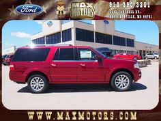 2015 Ford Expedition EL Harrisonville, MO 1FMJK2AT6FEF39474 #MaxFord #Ford