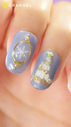 Pin on ネイル Asian Nail Art, Asian Nails, Korean Nail Art, Japanese Nail Design, Japanese Nail Art, Nail Art Designs Videos, Red Nail Designs, Christmas Nail Designs, Christmas Nail Art
