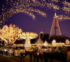 In November, Gothenburg turns into a sparkling festive city, with the opening of Scandinavia's biggest Christmas market at Liseberg Amusement Park.  There are 700 Christmas trees, five million lights and 80 rustic stalls selling treats such as traditional Swedish marinated herring, marzipan pigs and glögg.