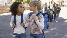 amiche a scuola