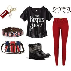 British... I pinned for the Beatles shirt... <3