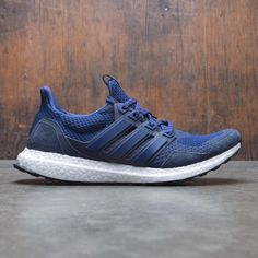 7162b57936b5d Adidas Consortium x Kinfolk Men UltraBOOST (navy   night navy   night  indigo   dark blue)