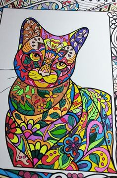 ColorIt Cats, Kittens, and Wildcats Adult Coloring Book Colorist: Toni…