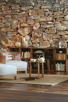 contemporary & rustic walls