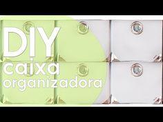 Caixa organizadora 3 - YouTube