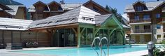 Apartment in Serre Chevalier with pool, Monetier-les-Bains, 200m to piste