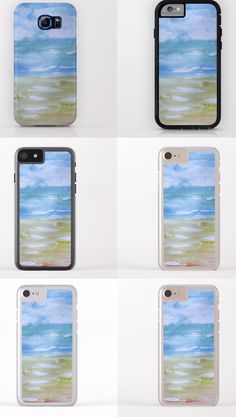 The new standard. Unique and beautiful designs.  Ocean environmental Art collection for the lovers of the beach and sea! Decor any @iPhone or @Samsung with a case that protects and let's your phone shine! Find yours today by @anoellejay @society6