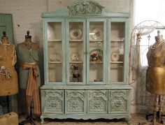 French China Cabinet vintage