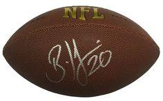 Brian Dawkins Philadelphia Eagles Signed Replica Wilson NFL Football JSA