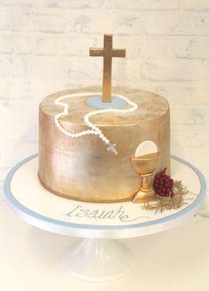 Pretty Parties - Custom Cakes C-36 Communion / Confirmation Cake www.prettyparties.net.au