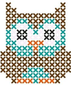 Thrilling Designing Your Own Cross Stitch Embroidery Patterns Ideas. Exhilarating Designing Your Own Cross Stitch Embroidery Patterns Ideas. Owl Patterns, Perler Patterns, Beading Patterns, Embroidery Patterns, Easy Patterns, Color Patterns, Easy Cross Stitch Patterns, Cross Patterns, Cross Stitching