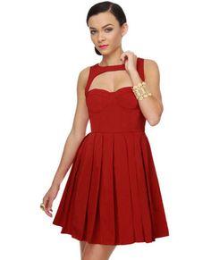 BB Dakota Kassia Red Dress. so beautiful