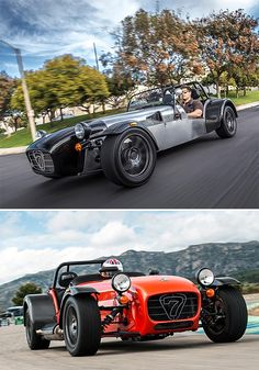 British sportscar maker Caterhams Cars is bringing two new open-wheel roadsters to the USA. The Seven 480 and 360 are 2 new variants based on its iconic Seven model. They are shipped over as rolling chassis to be completed and customized here. Both are powered by a 2.1-liter Ford Duratec engine capable of speeds well north of 120MPH. $44K -$55K