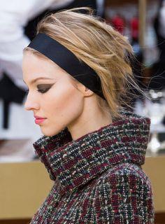 Sasha Luss - Chanel Fall 2015 RTW