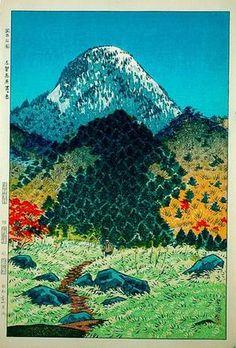 1956 - Kasamatsu, Shiro - Mt. Kasugatake in Shinga Heights