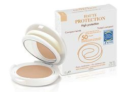 For easy to apply sunscreen on the go, throw the Avène High Protection Tinted Compact SPF 50 in your purse. It leaves a matte finish and evens complexion while providing high-level broad-spectrum protection at the same time.