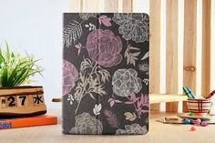 Blooming Rose Floral Case Fold Lether Tablet by SereneLifeDesign, $29.99