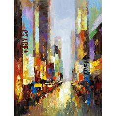 Rue Lillie Canvas Wall Art - United Artworks - United Artworks