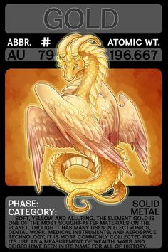 A shiny shiny card for scygon Scygon Elemental Cards- Gold Chemistry Posters, Chemistry Lessons, Teaching Chemistry, Science Chemistry, Science And Technology, Physical Education Games, Health Education, Periodic Elements, A Level Biology