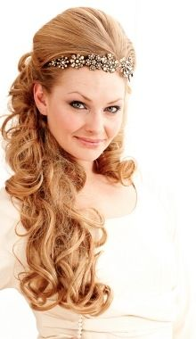 Wear a headband at your hairline for a unique look - Beautiful