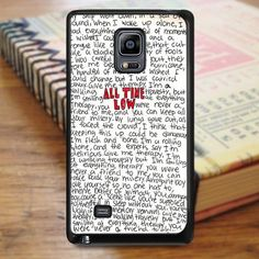 All Time Low Art Music Qoutes Samsung Galaxy Note 3 Case