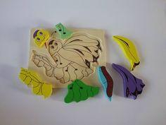 Puzzle farfalla a incastro facile