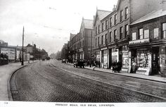 Liverpool c 1920s Postcard - Prescot Road, Old Swan (3)