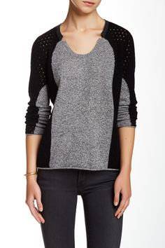 Eleanor Intarsia Cashmere Sweater by Quinn Cashmere on @HauteLook