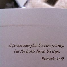 The Lord directs his steps #faith