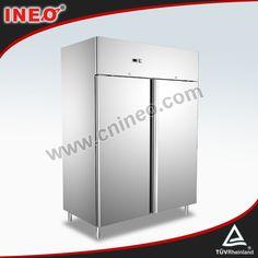 1150L Stainless Steel Upright Deep Freezer/Commercial Fridge Freezers/Industrial Refrigerator Freezer