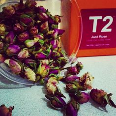 Too pretty not to photo! Smells like heaven  #T2 #t2 #justrose