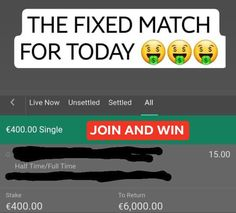 BESTFIXEDWIN - SURE FIXED MATCHES - best fixed matches, sure matches, real fixed matches, secure matches, confidential matches, profitable matches Fixed Matches, Matches Today, Football Score, Football Match, Football Predictions, Vip Tickets, Sports Picks, Today Tips, Games Today