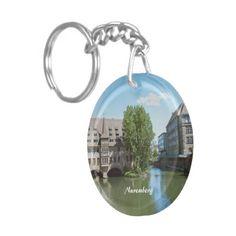 #Nuremberg Acrylic #Key #Chain