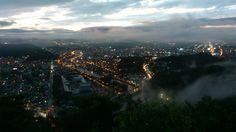 Jeonju, Korea 전주 중바위산에서