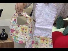 Babeiro Infantil Plastificado - Passo a Passo - YouTube