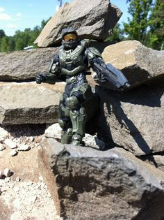 Halo 4 Master Chief Action Figure McFarlane Toys Series 1 Review - Halo Toy News