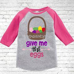 Kids Easter Shirt Little Girl Easter Shirt Easter Bunny Shirt Easter Graphic Tee Hunny Bunny\u00a9 LONG SLEEVE SHIRT Easter Shirts for Boys