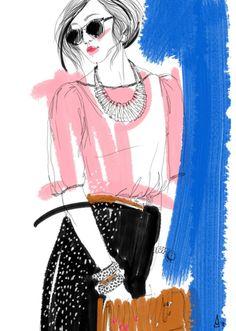 An illustration of Chriselle Lim